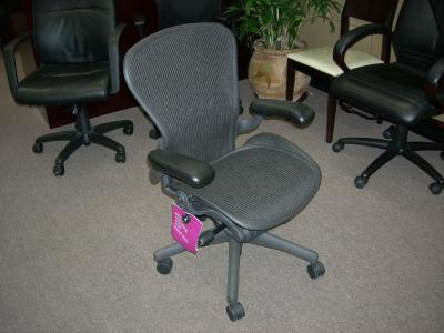 Available Now - Pre-Owned Herman Miller Aeron Chairs (Medium)