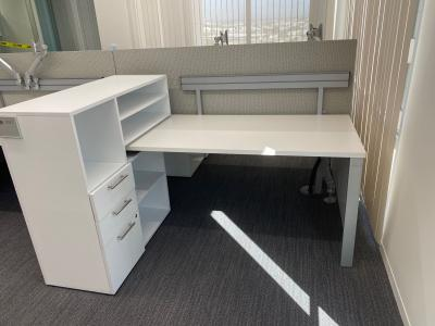 Pre-Owned Haworth Benching System